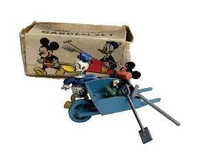 Salco Mickey and Donald Garden Set.