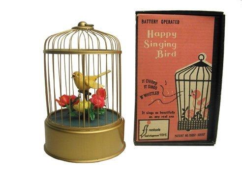 11: B/O Happy Singing Bird in O/B