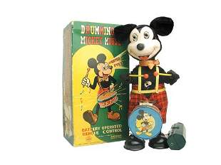 Linemar Drumming Mickey Mouse in O/B