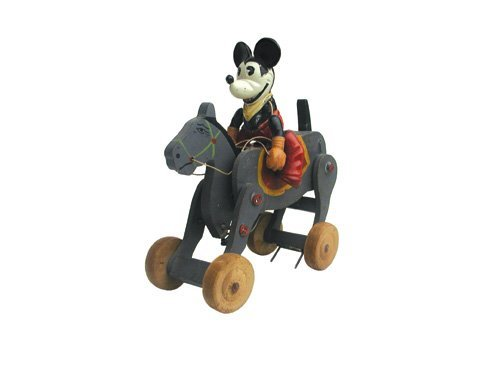 609: Mickey Mouse on Horse