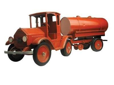 1515: Sturdi-Toy Tractor Trailer Tank Truck