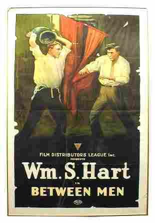 Between Men 1-Sheet Movie Poster.