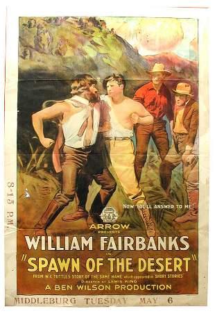 Spawn of Desert 1-Sheet Movie Poster.