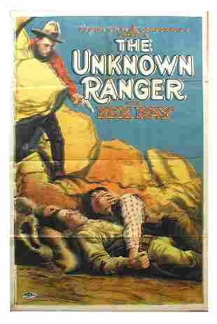 The Unknown Ranger 1-Sheet Movie Poster.
