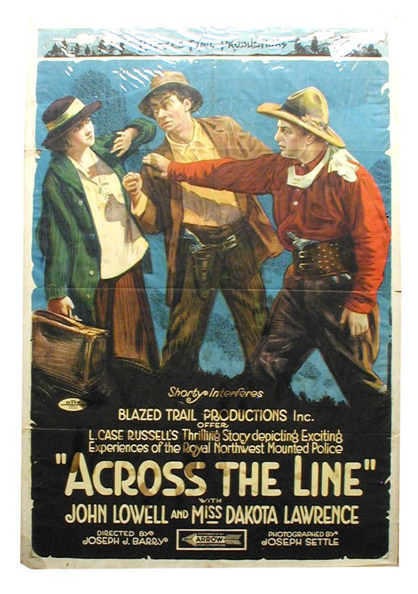 7: Across The Line Arrow Pictures Movie Poster 1-Sheet.