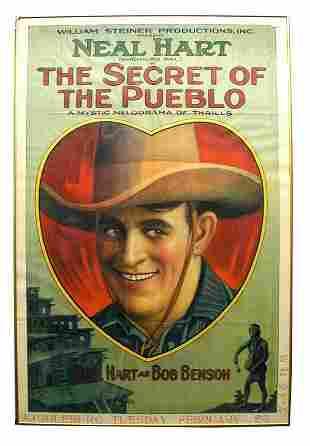 Secret of the Pueblo 1-Sheet Movie Poster.