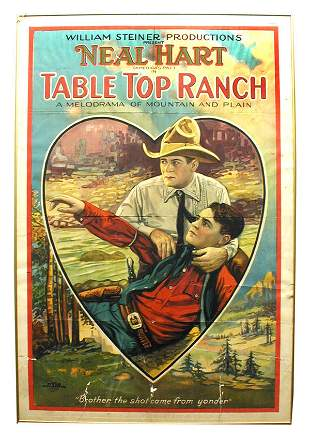 Table Top Ranch Movie 1-Sheet Poster.