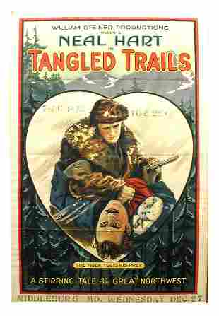 Tangled Trails 1-Sheet Movie Poster.