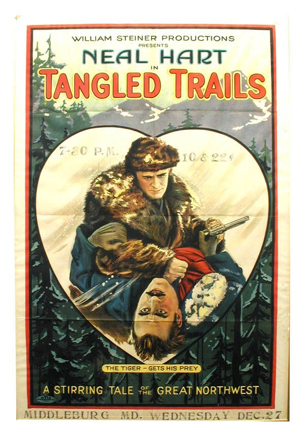 10: Tangled Trails 1-Sheet Movie Poster.