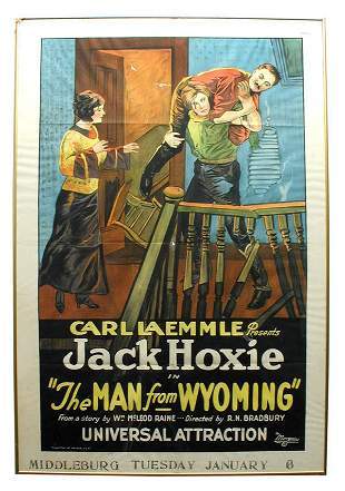 The Man From Wyoming 1-Sheet Movie Poster.