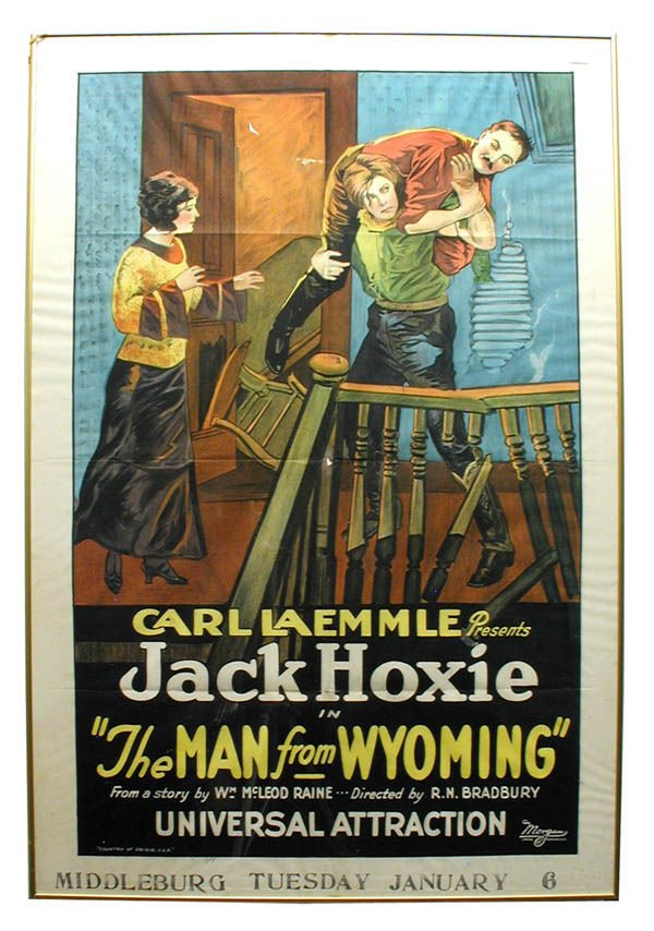 11: The Man From Wyoming 1-Sheet Movie Poster.