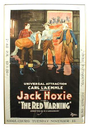 The Red Warning 1-Sheet Movie Poster.