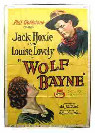 Wolfe Bayne 1-Sheet Movie Poster.