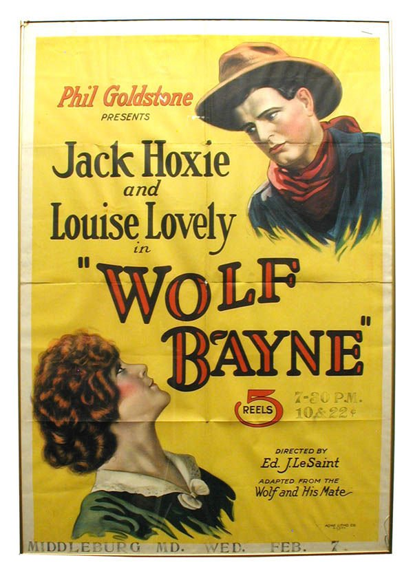 13: Wolfe Bayne 1-Sheet Movie Poster.