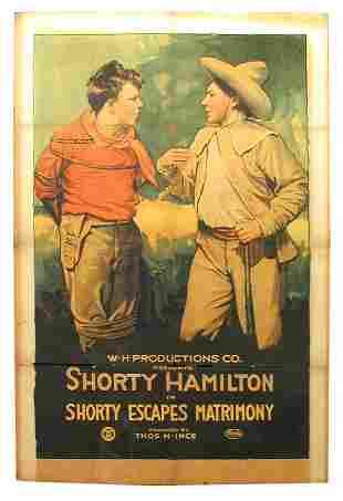 Shorty Escapes Matrimony 1-Sheet Movie Poster.