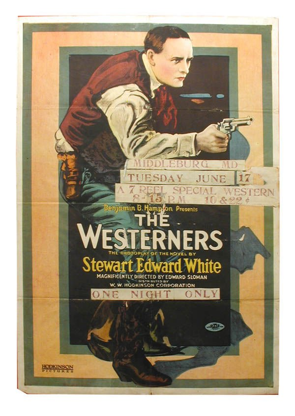 15: The Westerners 1-Sheet Movie Poster.