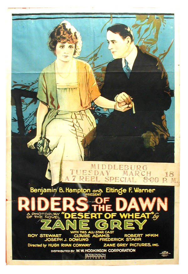 16: Riders of the Dawn 1-Sheet Movie Poster.