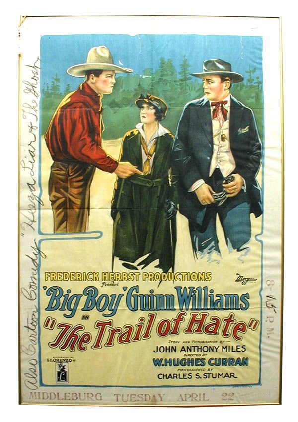 18: The Trail of Hate 1-Sheet Movie Poster.
