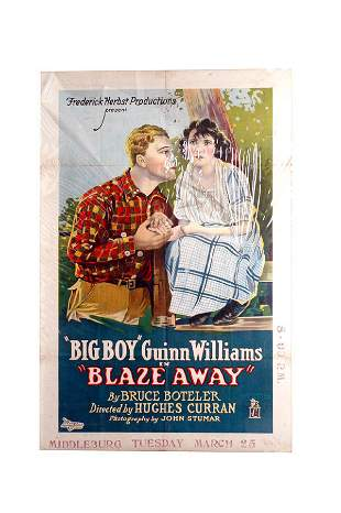 Big Boy Blaze Away Movie Poster 1-Sheet
