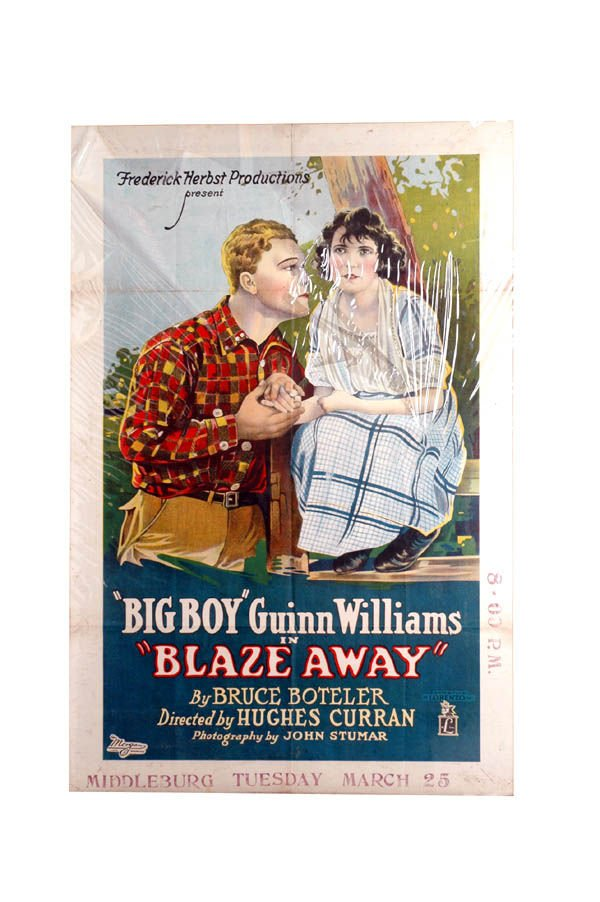 19: Big Boy Blaze Away Movie Poster 1-Sheet