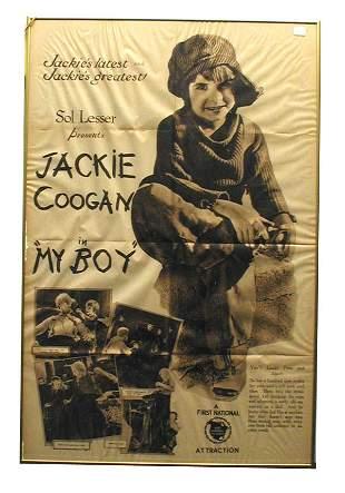 My Boy Movie Poster.
