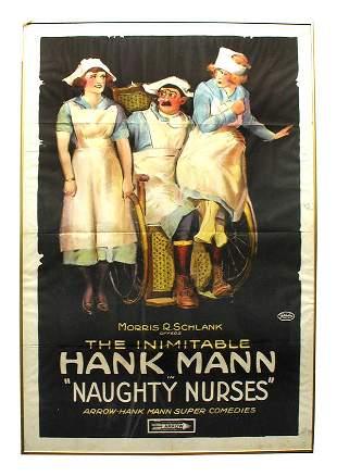 Naughty Nurses 1-Sheet Movie Poster.
