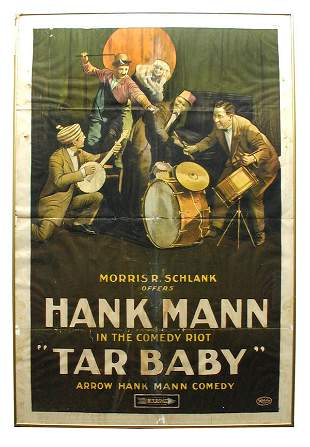 Tar Baby 1-Sheet Movie Poster.