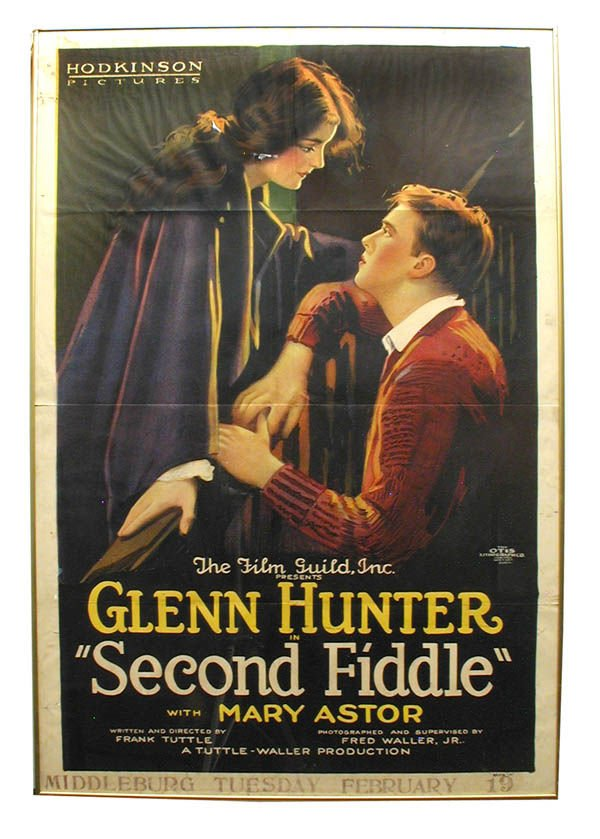 46: Second Fiddle 1-Sheet Style A Movie Poster.
