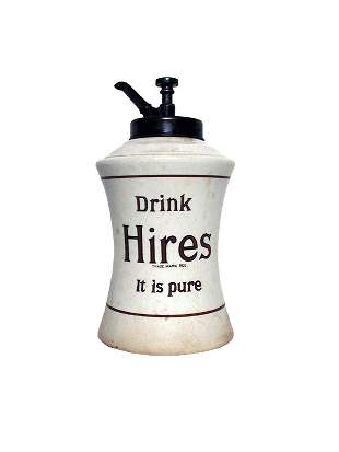 Hires Root Beer Dispenser.