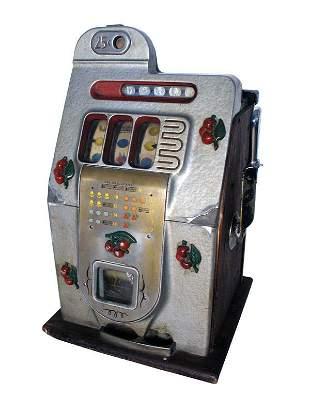 Mills 25-Cent Black Cherry Slot.