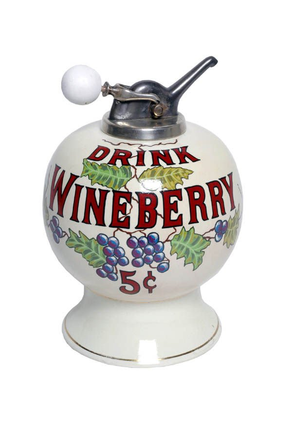 515: Wineberry Syrup Dispenser.