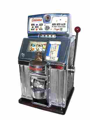 Jennings 10-Cent Governor Slot.