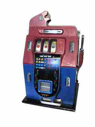 50-Cent Mills Gold Bar.