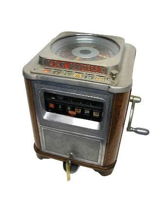 Caille Midget Aristrocrat Roulette Slot Machine.