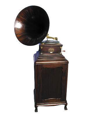 Victor Six Talking Machine with Stand.
