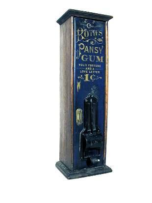 Roth's Pansy Gum vender.