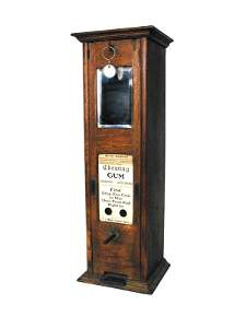 1229: J.H. Moore Gum vender.