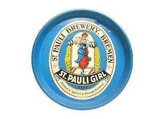 St. Pauli Serving Tray.