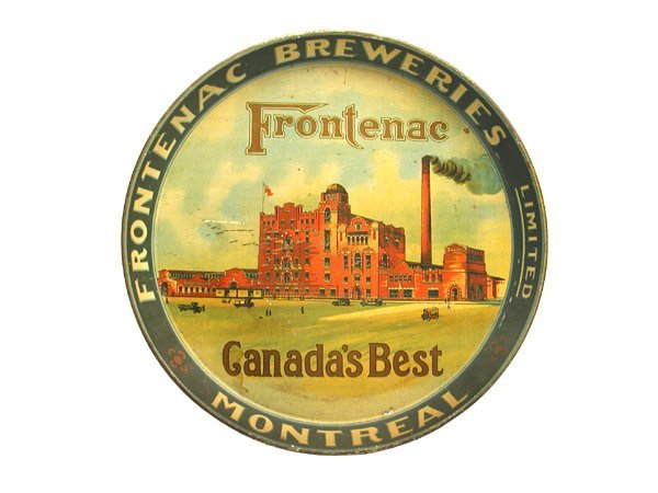 14: Frontinac Serving Tray.