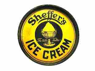 Sheffer's Ice Cream Serving Tray.