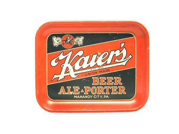 21: Kauer's Serving Tray.
