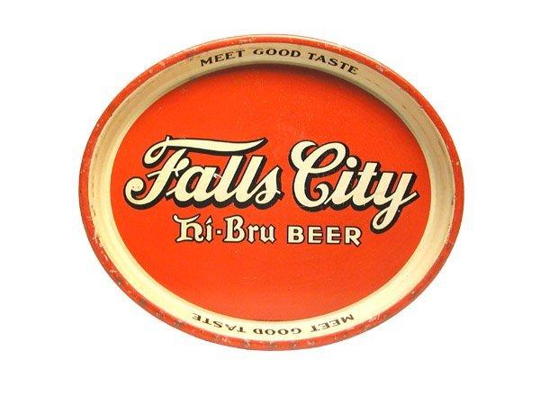 22: Falls City Serving Tray.