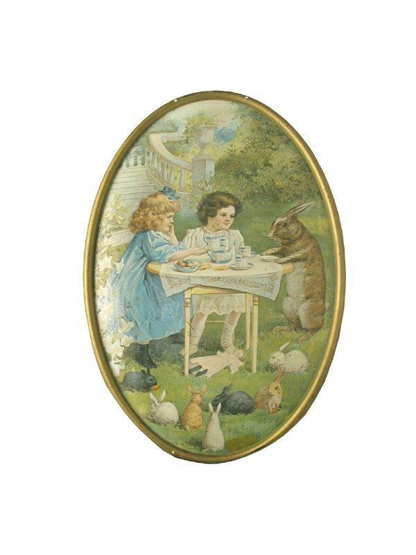 288: Rabbit Tin Sign.