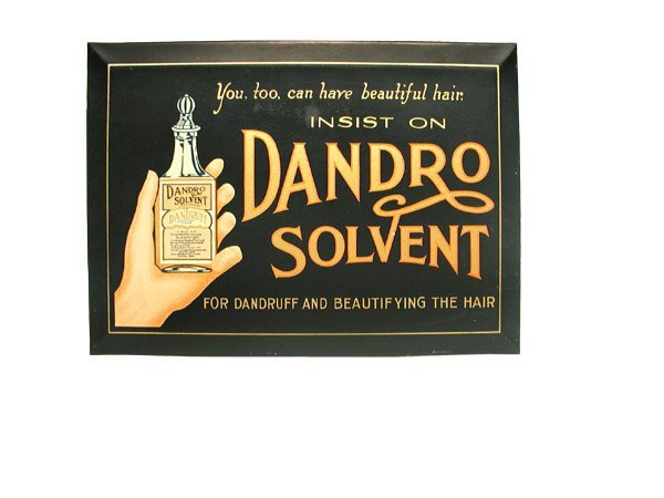 412: Dandro Solvent Sign.