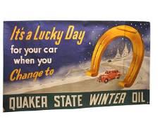 655: Quaker State Banner.