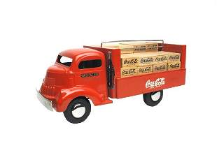 Contemporary Smith Miller Cabover Coke Truck.