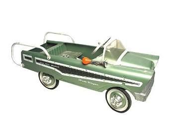 244: Murray Dude Wagon Pedal Car.