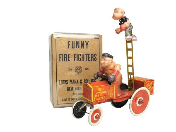 502: Marx Funny Firefighters in O/B.