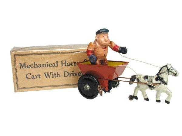 507: Marx Brutus in Cart in O/B.