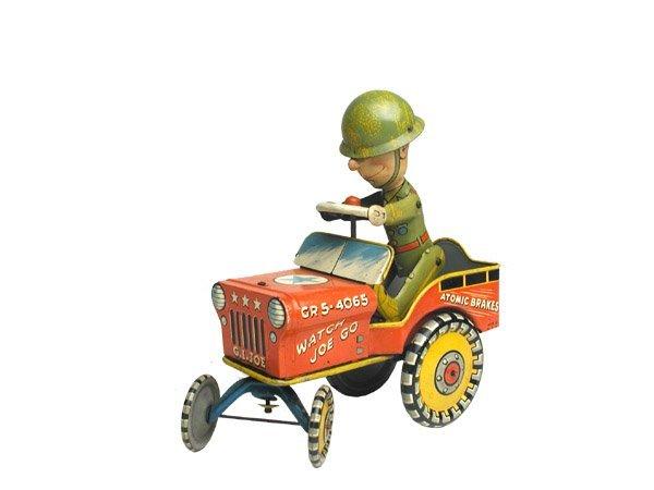522: Unique Art G.I. Joe and His Jouncing Jeep.